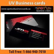 Professional UV Business Cards- By Spotuvbusinesscards.ca