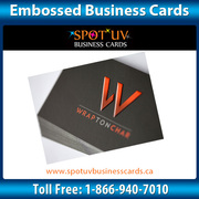 Great Embossing business cards - Services – Spotuvbusinesscards.ca