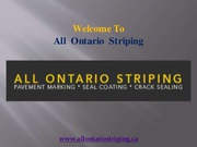 Asphalt Sealcoating in Toronto